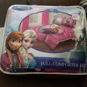 Frozen Full Comforter Set
